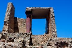 Knossos Palace, Crete, Greece Stock Photography