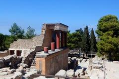 Knossos Palace, Crete, Greece Stock Images
