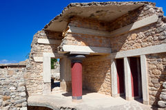 Knossos Palace, Crete, Greece Royalty Free Stock Photography