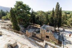Knossos palace, Crete - Greece Stock Photography