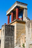 Knossos palace near Heraklion, island of Crete Stock Images