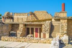 Knossos Palace ruin Royalty Free Stock Image