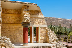 Knossos Palace ruins. Crete, Greece Stock Photos