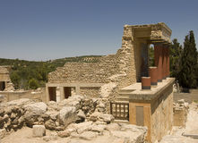 Knossos Palace south side Royalty Free Stock Photography