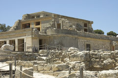 Knossos Palace south site Royalty Free Stock Image