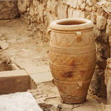 Knossos palace vases Royalty Free Stock Images