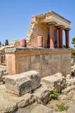 Knossos-Palast die zeremonielle und politische Mitte lizenzfreie stockfotos