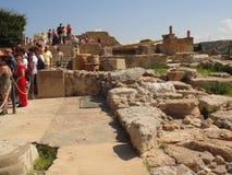 Knossos Palast Kreta Lizenzfreies Stockbild