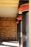 Knossos Palast Kreta Stockfoto