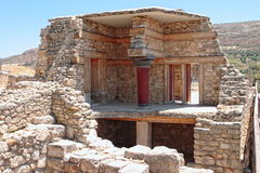 Knossos reconstruction Stock Photo