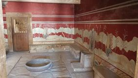 Knossos stock photo