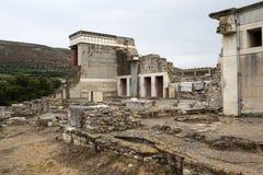 Knossos slott på Kreta royaltyfri bild
