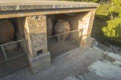 Knossos slottKreta Fotografering för Bildbyråer