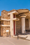 Knossos. South Propylaeum. The south propylaeum of legendary Knossos palace. Crete, Greece Royalty Free Stock Photography