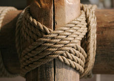 Knot. Rope Knot Royalty Free Stock Photos