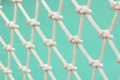 Knot. Many knot of the rope Stock Photos