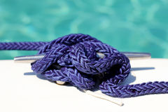 Knot on a boat Royalty Free Stock Photos