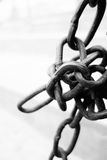 Knot of Chain Links Royalty Free Stock Photography