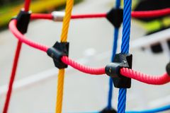 Knot, climbing gear Stock Images