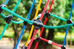 Knot, climbing gear Royalty Free Stock Image
