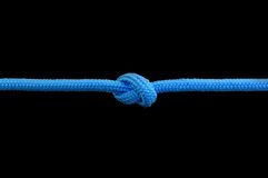 Knot on a cord Stock Photography
