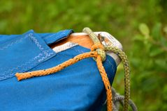 Knot, Cord, Leash, Dew, Boot Stock Photography