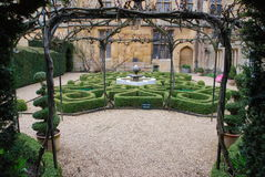 Knot garden Stock Photography