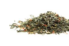 Knot of green tea Royalty Free Stock Photography