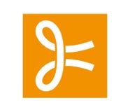 Knot Icon Design Concept Stock Photos