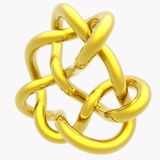 Knot Illustration. A colorful render of a 3d knot Royalty Free Stock Photography