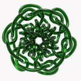 Knot Illustration. A colorful render of a 3d knot Royalty Free Stock Image