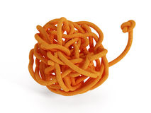 Knot isolated on white background Royalty Free Stock Photography