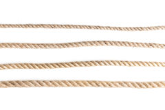 Knot of jute rope Stock Image