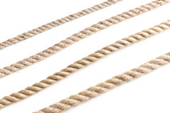 Knot of jute rope Royalty Free Stock Photography
