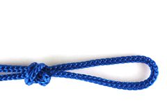Knot with a noose Stock Photos