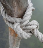 The knot of the rope Royalty Free Stock Image