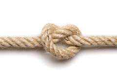 Knot in rope Stock Photography
