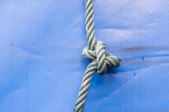 Knot of rope Royalty Free Stock Photography