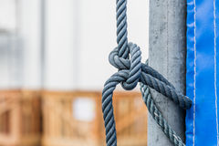 Knot of rope Stock Photography