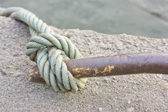 Knot rope Royalty Free Stock Image