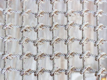 Knot of rope for net Royalty Free Stock Image