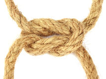 Knot on rope Stock Photos