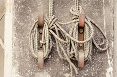 Knot rope tied Royalty Free Stock Photos