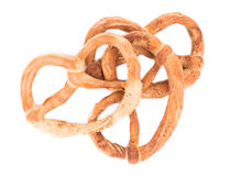 Knot-shaped biscuits Royalty Free Stock Images