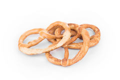 Knot-shaped biscuits Stock Image