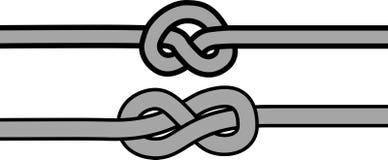 Knot symbol Stock Photography