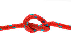 Knot, thick rope Stock Images