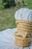 Knot to tie Stock Image