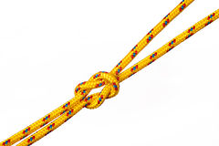 Knot white background Royalty Free Stock Images