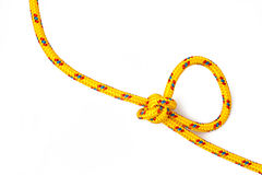 Knot white background Stock Photography